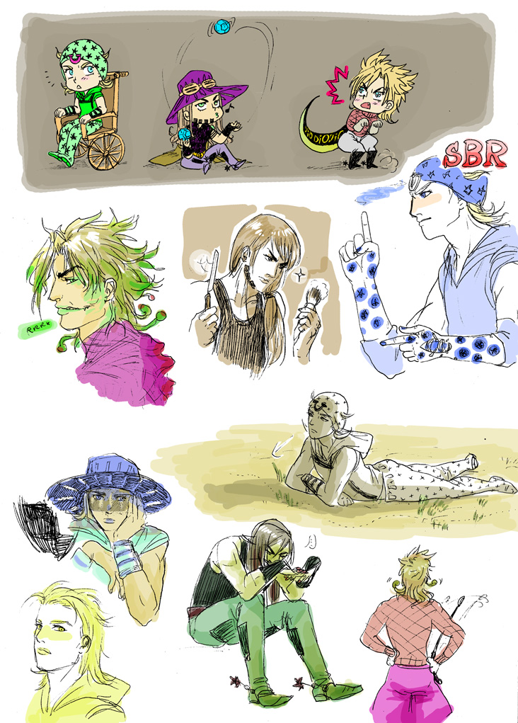 SBR doodles by Asiulus