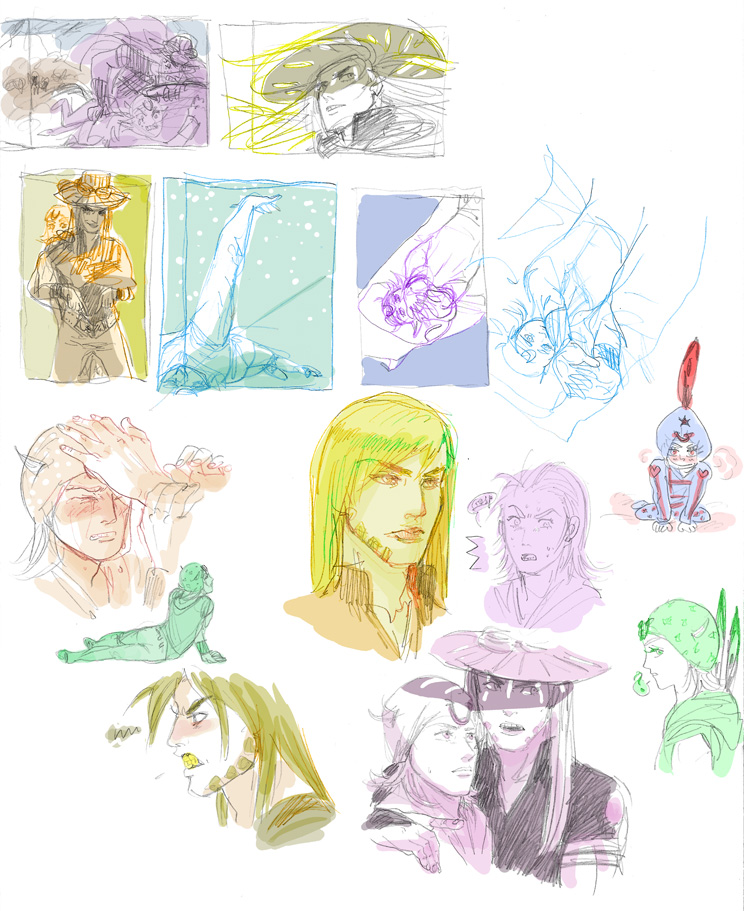 SBR doodles 3 by Asiulus
