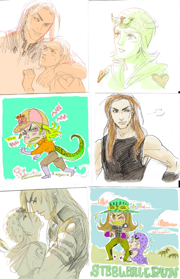 SBR doodles 4 by Asiulus