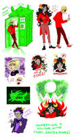 Homestuck x Dr Who crossover