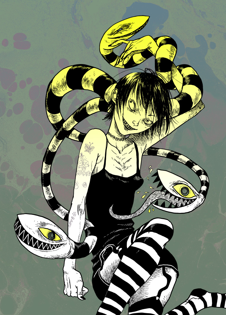 Snake charmer by Asiulus