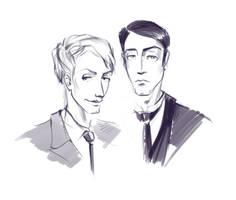 Jeeves and Wooster by lili-paletskaya