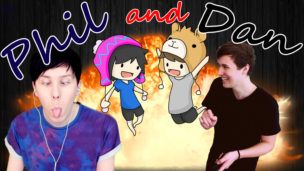 Dan And Phil Wallpaper By ValkoriaVA