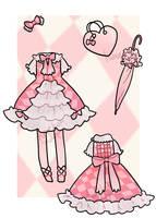Custom Outfit - Carine by kuroeko-adopts