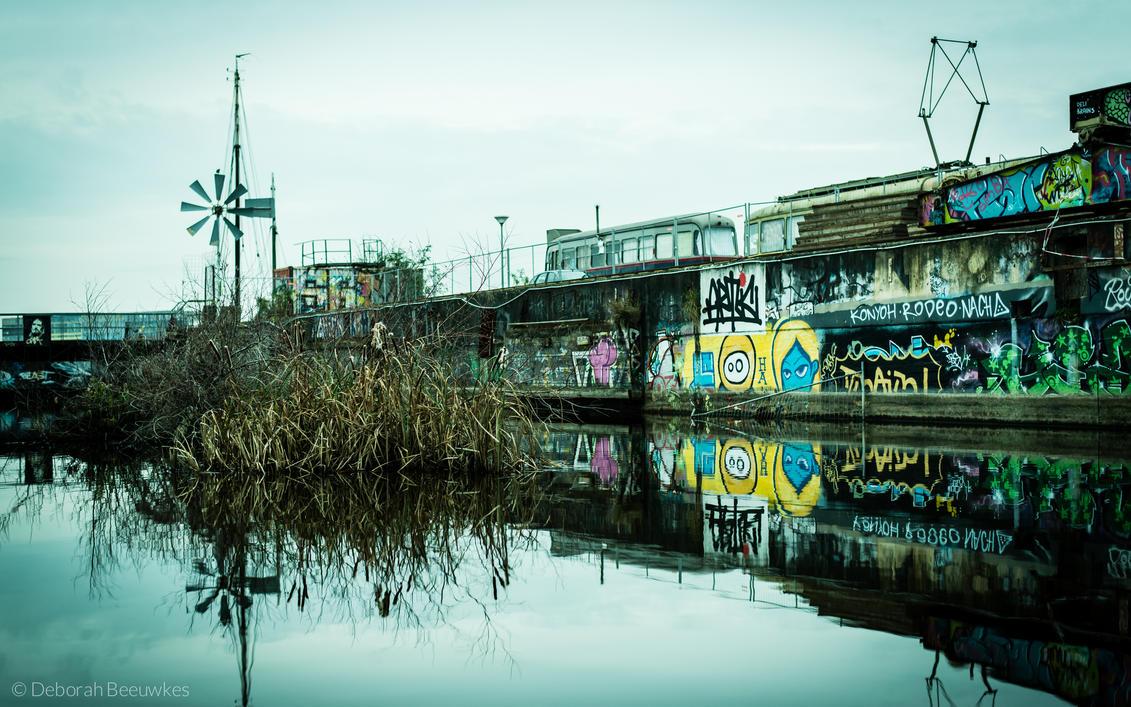 Wharf by DeborahBeeuwkes