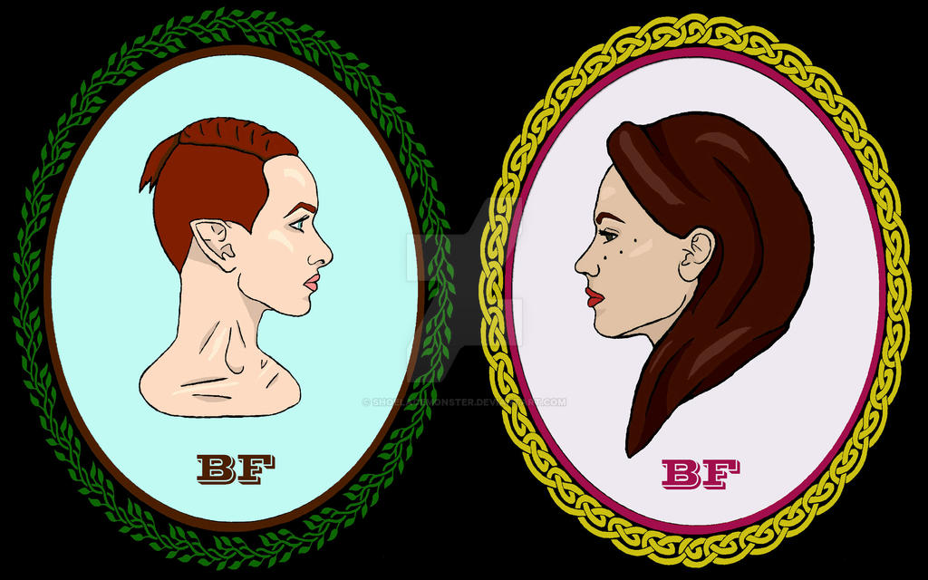 Best Friend B*tch Face First Logo by ShoelaceMonster