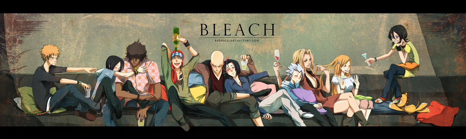 Bleach - Be Drunk by RedPig31