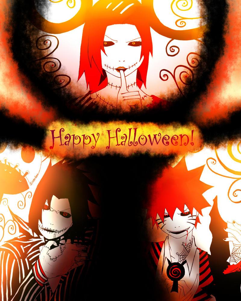 Naruto-Happy Halloween by CrispyGray