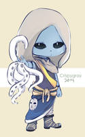 Commission- Cute Glare by KuumiArt