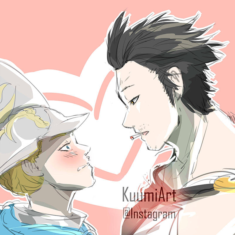 Black Clover Yami X Charlotte By Kuumiart On Deviantart Tagged under suwabe junichi and black clover. black clover yami x charlotte by