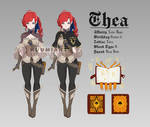 Black Clover OC - Thea