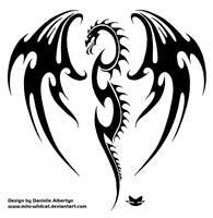 Dragon shield by Milo-Wildcat