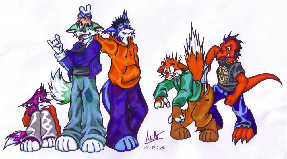 Groupies by Milo-Wildcat