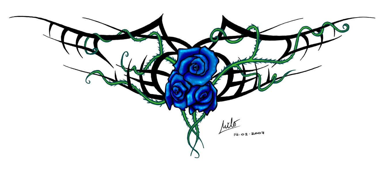 intertwined thorns by milo wildcat on deviantart. Black Bedroom Furniture Sets. Home Design Ideas