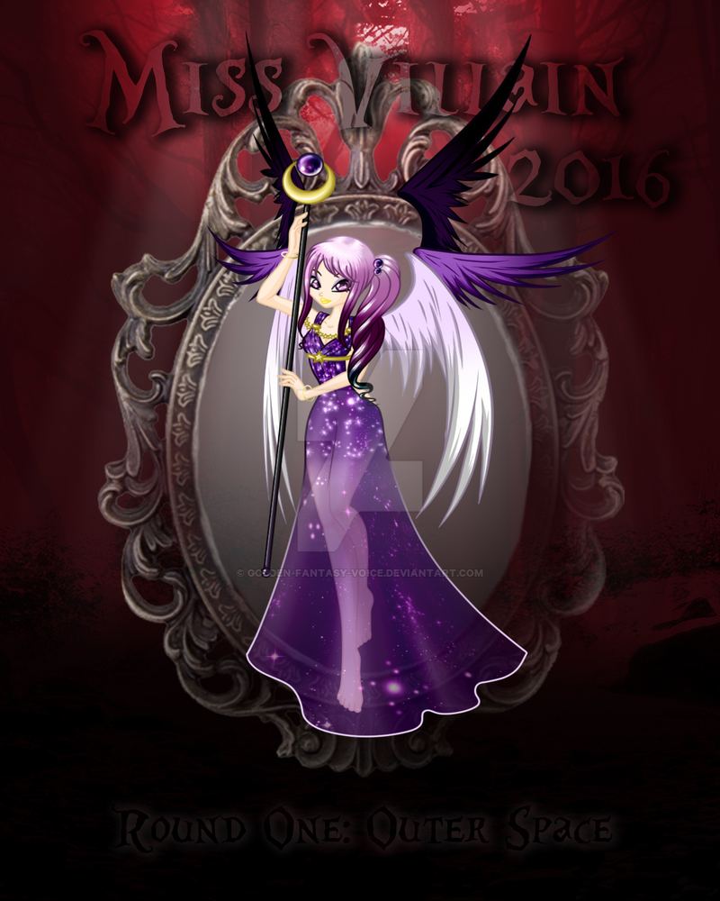 Miss villain 2016 outer space by golden fantasy voice on for Outer space 2016