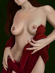 Naked Red 14 by Enjoydotcom