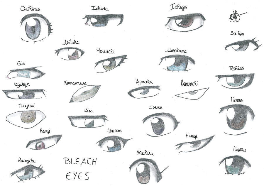 Bleach Eyes Part One by Grimmichou