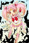 Sailor Moon - Sailor Chibimoon render (png)