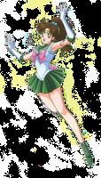 Sailor Moon - Sailor Jupiter render (png)