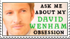 David Wenham obsession stamp by purgatori