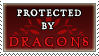 Protected by Dragons stamp by purgatori