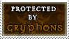 Protected by Gryphons stamp