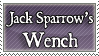 Jack Sparrow's Wench stamp by purgatori