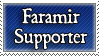 Faramir supporter stamp by purgatori
