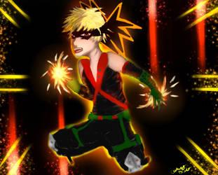 Bakugou: My Hero Academia by KourtDrawz