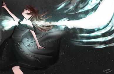 Soul Leaving the body (Vent art) by KourtDrawz