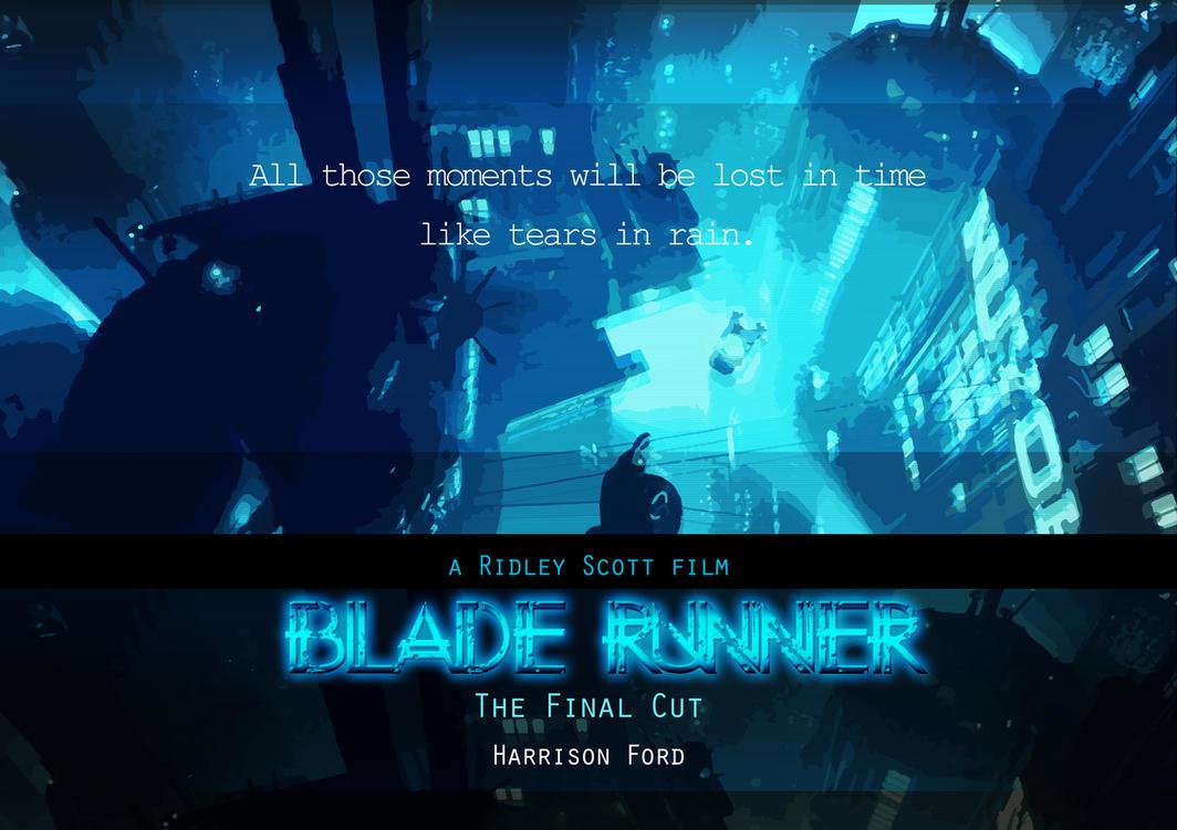 Blade runner poster v1 by JaneSerenityWolf