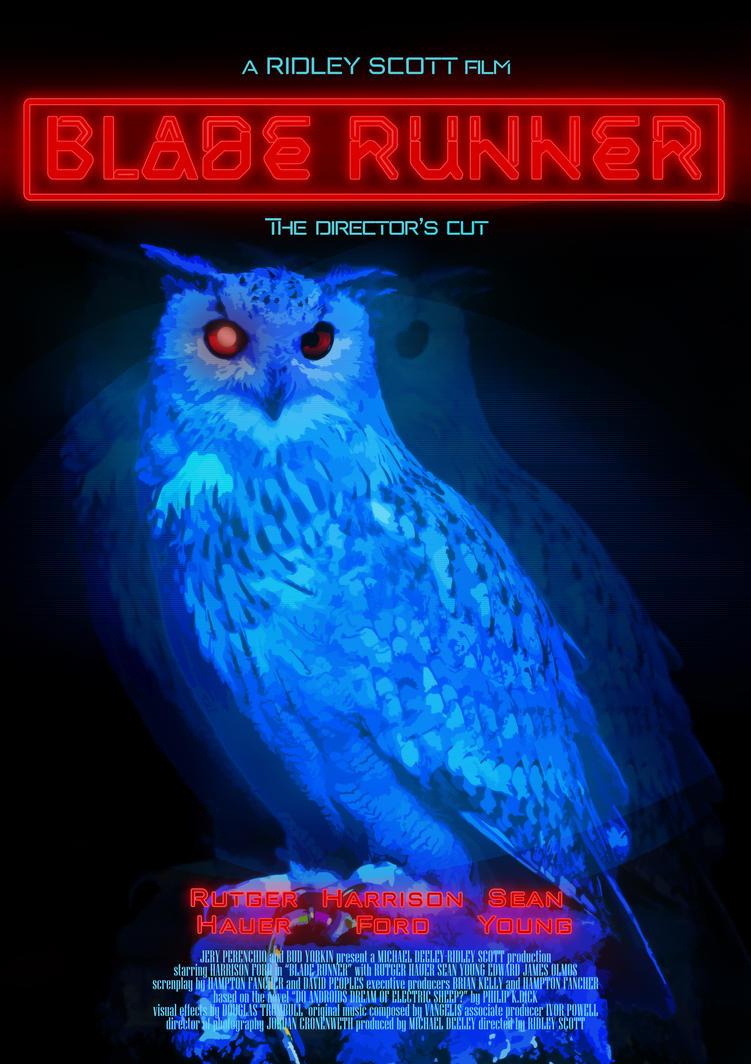 Blade Runner Poster1v2 by JaneSerenityWolf