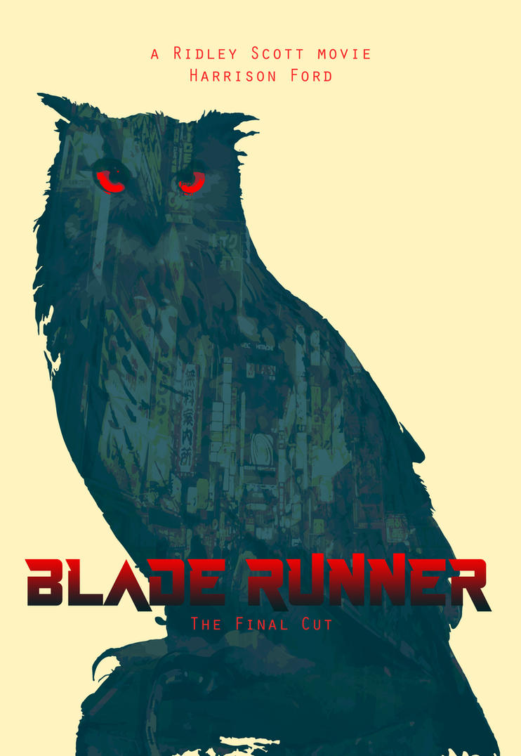 Blade runner poster v3 by JaneSerenityWolf
