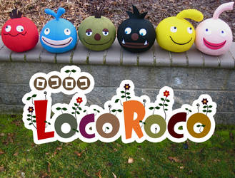 LocoRoco Plush Collection
