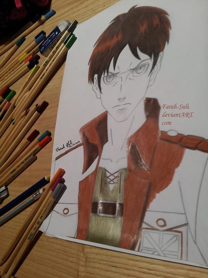 Eren Jaeger - Shingeki No Kyojin by Farah-Suli