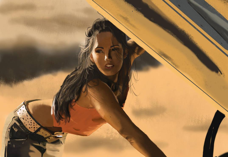 Megan Fox Transformers Finished wallpaper by 69ingChipmunkzz
