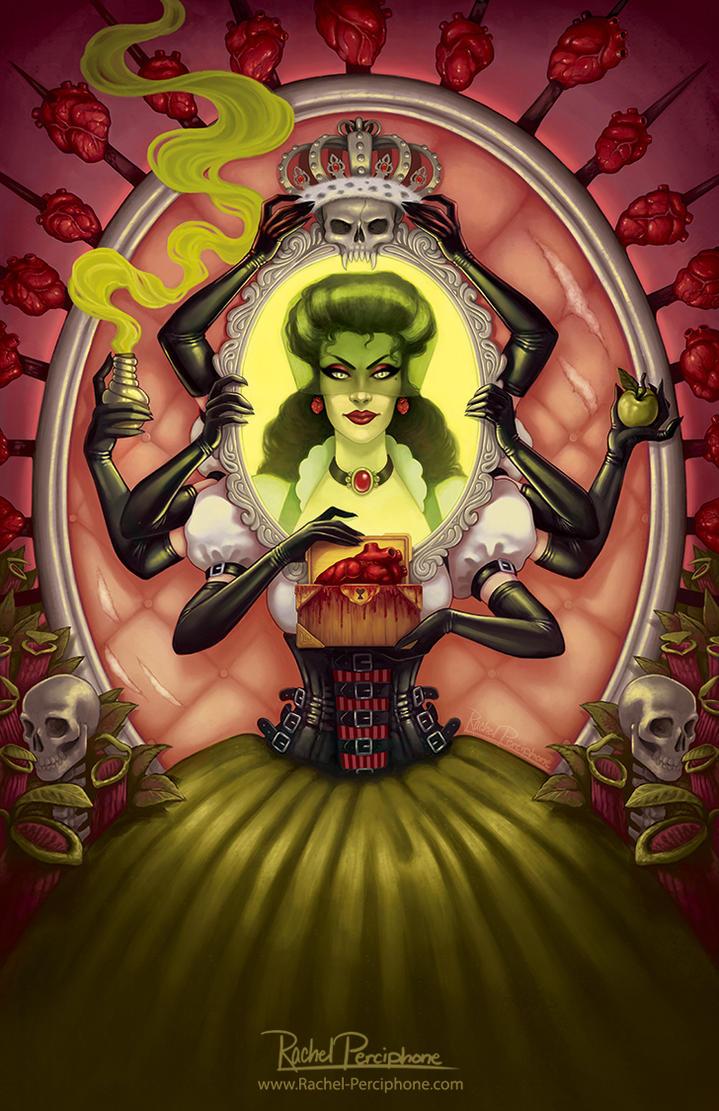Twisted Endings - Evil Queen by Rachel-Perciphone