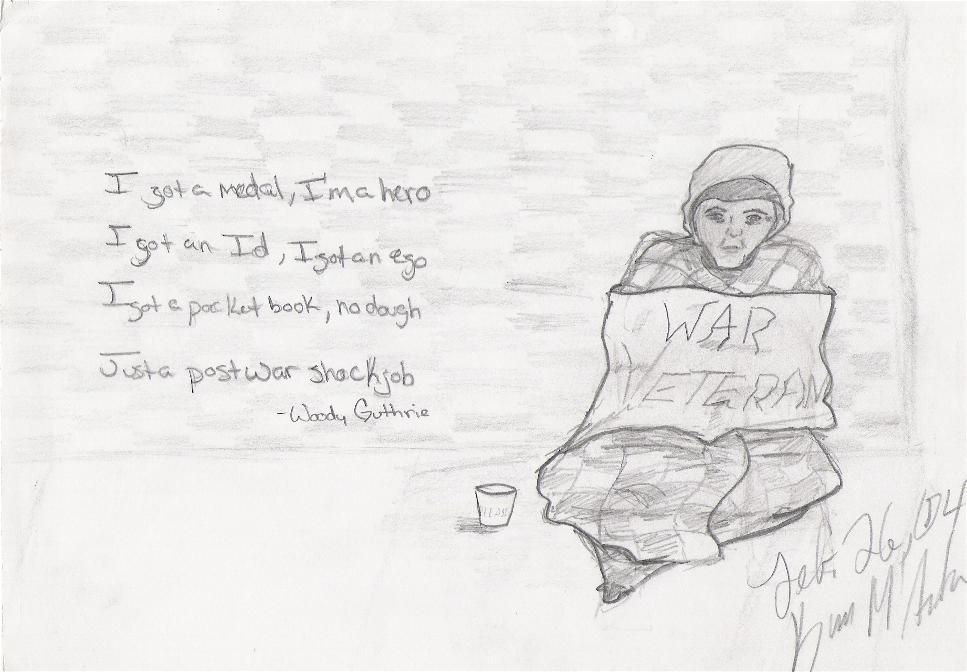 War Veteran by Dympna
