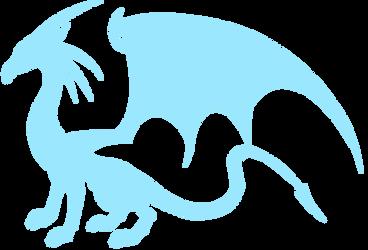 'Unknow Ice female Dragon' (Repticoot-Zirra AU) by MauroRex4883