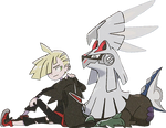 Gladion and Silvally Render