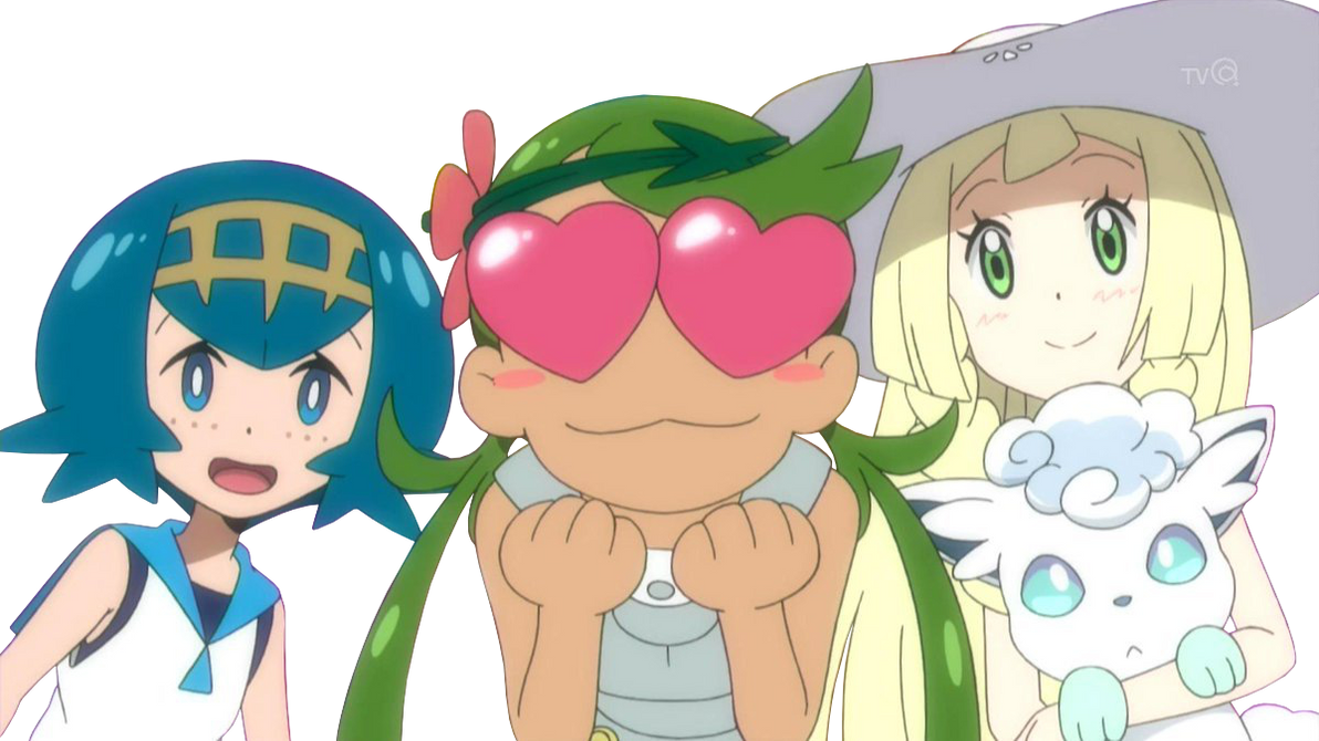 Lillie Lana and Mallow by superfoxdeer on DeviantArt