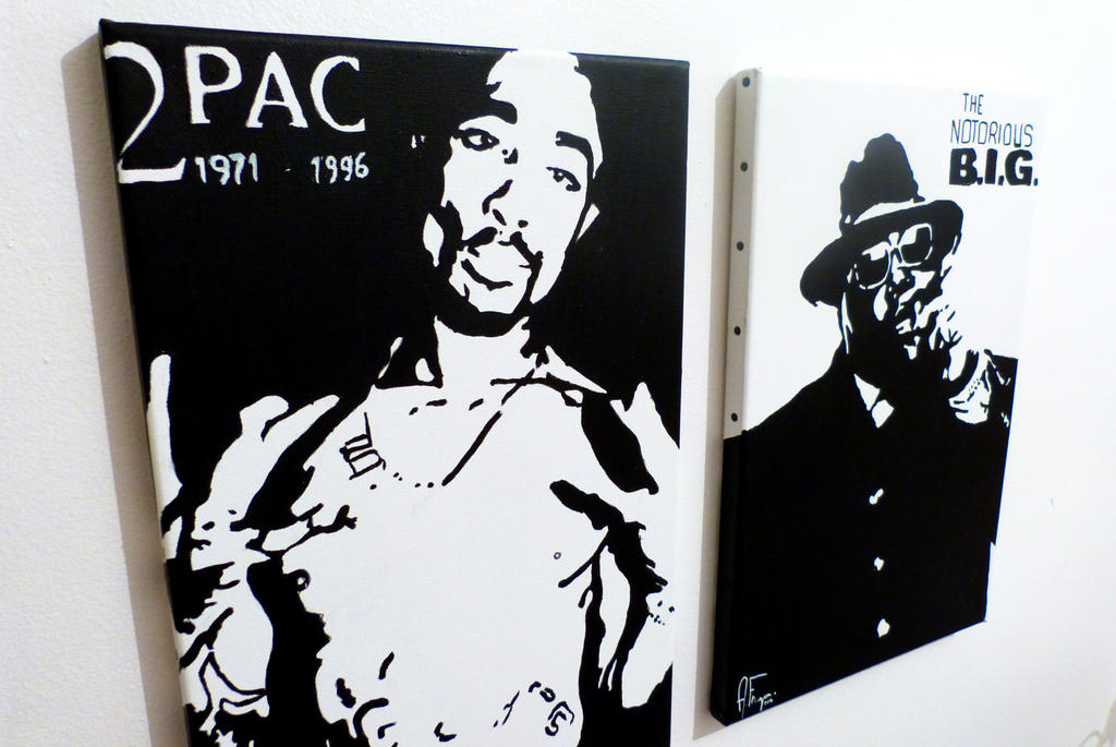 2pac and biggie Pop Art by AFraga on deviantART