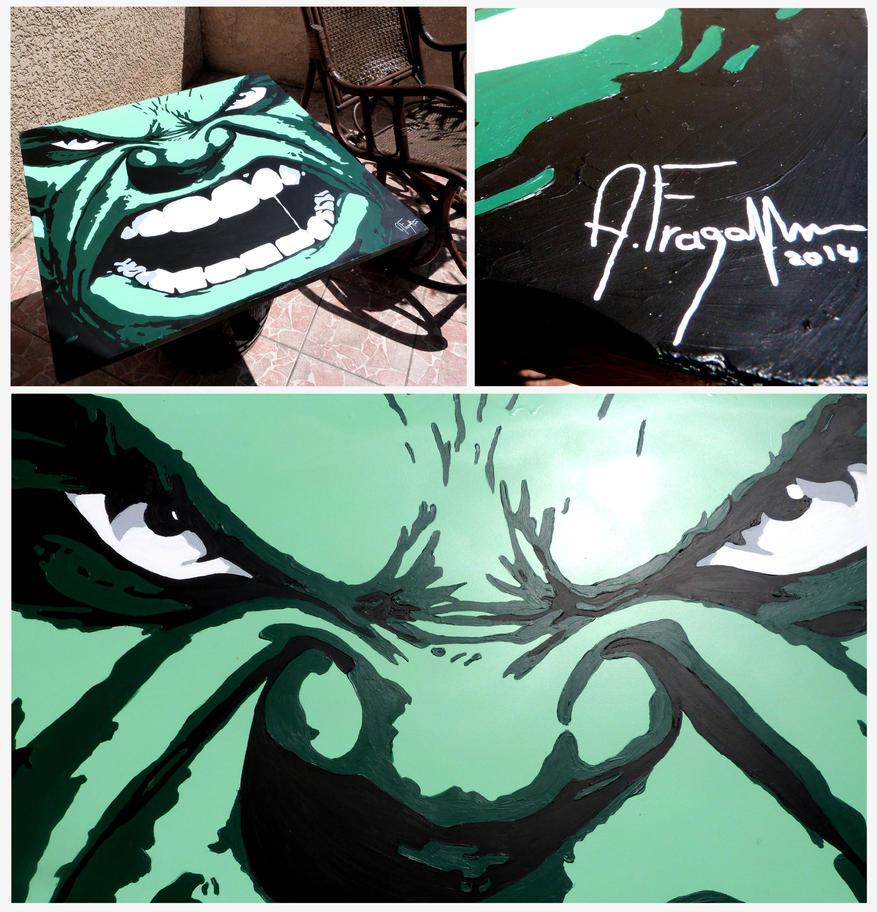 Hulk table basse 90x90cm by afraga on deviantart - Table basse acrylique ...