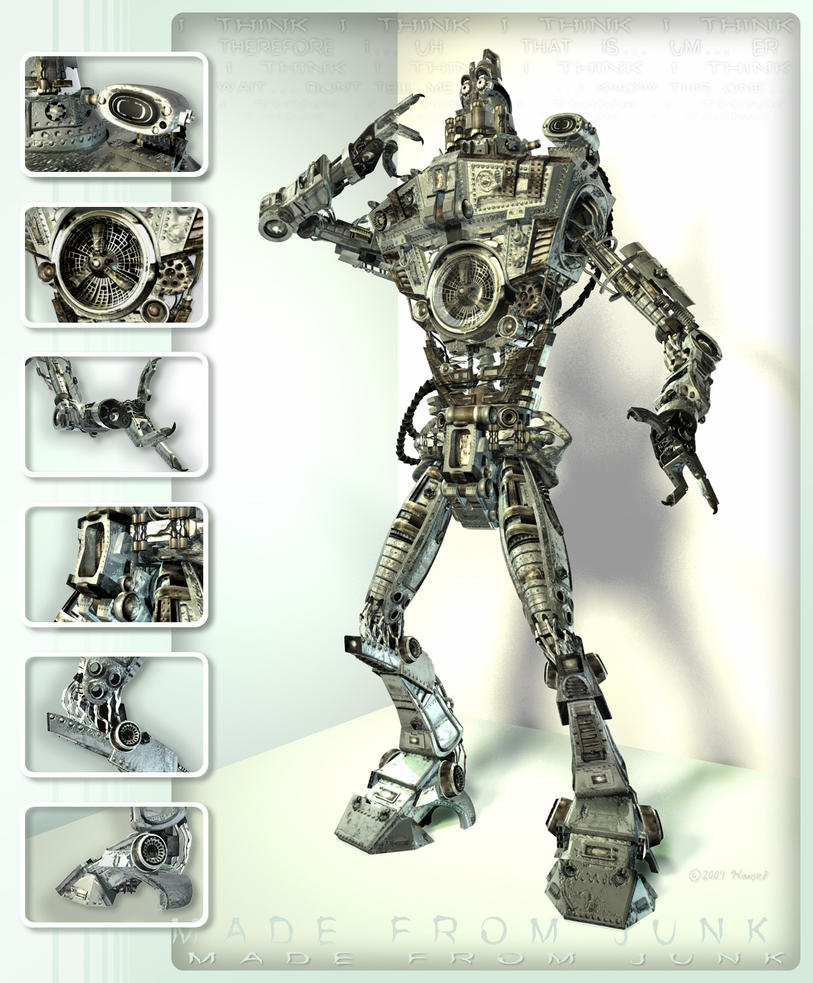 made from junk by stealthman by MattHansel