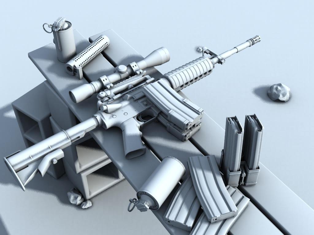 Pin M4a1 Carbine Wallpaper Spec Ops Edition Battlefield 3 ...
