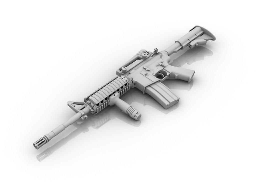 TAP: Colt M4A1 RIS by V1nce on DeviantArt