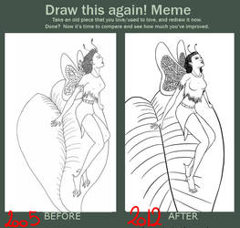 Before and after - Faerie