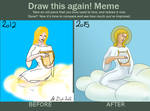 Before And After Meme Angel