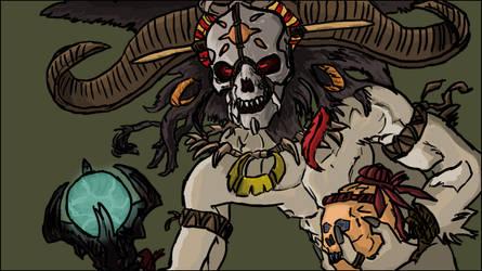 Witch Doctor - Diablo III by Daxter93