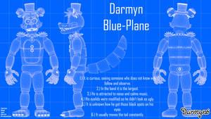 Darmyn Blue-Plane (C4D/OC's)